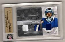 ROBERTO LUONGO /11 ITG Ultimate JERSEY PATCH EMBLEM /9 Hockey Card Canucks SP