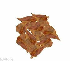 100 Pig ears from German production Chews for dogs Leckerlie Snaeck
