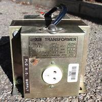 Arlec Transformer type no. 2168 Step down Primary 240V Secondary 115V 4.3A  500W