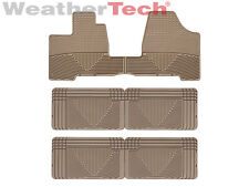 WeatherTech All-Weather Floor Mats - Toyota Sienna - 2004-2010 - Tan