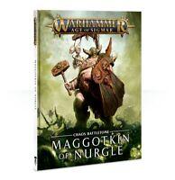 Battletome Maggotkin of Nurgle Chaos Daemons Warhammer Age of Sigmar Flipside