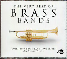 THE VERY BEST OF BRASS BANDS - 3 CD BOX SET - OVER 50 BRASS BAND FAVOURITES