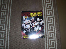 WBS Penguins 2000-2001 Official Yearbook Pittsburgh Highly Collectible Excellent