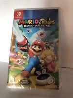 New Mario + Rabbids Kingdom Battle - Nintendo Switch