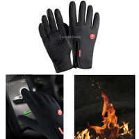 Windproof Waterproof Hunting Gloves Winter Warm Touch Screen Gloves Black