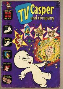 TV Casper And Company #7-1965 vg- 3.5 Giant-Sizer Harvey Spooky Warren Kremer
