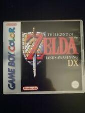 Nintendo Game Boy Color THE LEGEND OF ZELDA LINK'S AWAKENING DX Genuine