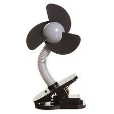 Dreambaby Stroller Pram Clip On Fan Silver Black Baby Foam Fins Portable Battery