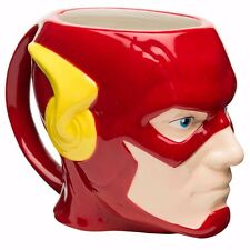The Flash Sculpted Flash DC Comics Officially Licensed Coffee Mug