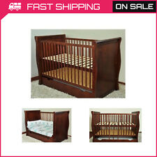 BABY COT BED/COT BEDS/ BABY COT WITH DRAWER/JUNIOR BED/FOAM FREE MATRESS