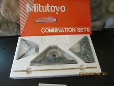 Mitutoyo combination square set. NIB