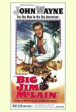 BIG JIM MCLAIN Movie POSTER 27x40 John Wayne Nancy Olson James Arness Alan