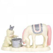 Snowbabies - Just Add Sparkle Figurine - Snowbaby with Horse