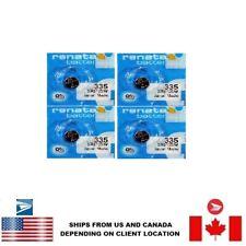 0% Mercury Sr512Sw Us Seller 4 Pcs Renata 335 Watch Batteries