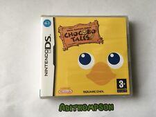 Final FANTASY FABLES CHOCOBO tales Totalmente Nuevo Y Sellado Nintendo Ds Juego