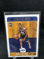 2017-18 Panini NBA Hoops Rookie #263 Donovan Mitchell Utah Jazz O40