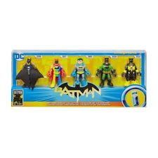 Imaginext Batman 80th Anniversary Figure Collection 5 Figure NIB