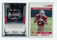 Lot cartes NFL Foot US  Colin Kaepernick RC 49ers 2011 Score & Prestige