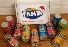 FANTA CHRISTMAS GIFT BOX SELECTION PICK 6 VARIOUS FLAVOURS PERSONALISED AMERICAN