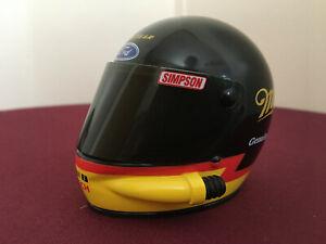 Rusty Wallace Simpson 1/4 Mini Racing Helmet Ford Miller Genuine Draft Bosch
