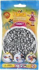 Sachet de 1000 perles à repasser hama  17 gris