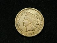 HOLIDAY SALE!!  XF-AU 1907 INDIAN HEAD CENT PENNY  W/DIAMONDS & FULL LIBERTY 35t