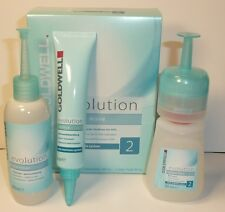 Goldwell Evolution Perm #2 FOR COLORED HAIR OR streaked hair Set