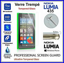 NOKIA 435 Tempered Glass Vitre de protection d'écran en VERRE TREMPE