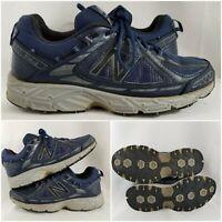 New Balance 510 v2 Running Shoe Men's Blue Leather Low Top Memory Foam 10.5 D