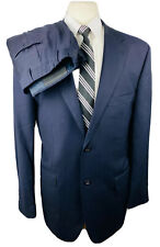 Craig Ryan Mens 44R Navy Blue 2 Piece Suit With Dress Pants 36Wx33L