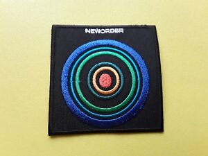 New Order Patch Embroidered Iron On Or Sew On Badge