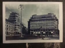 1938 Liberec Czechoslovakia Real Picture Postcard Main Square