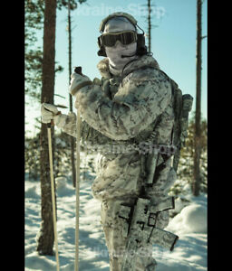Camouflage Multicam Alpine Winter Militaria Hunting Airsoft Snow Light New 5 SET