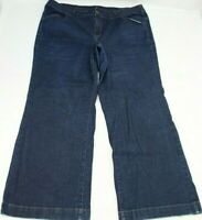 Lane Bryant Womens Jeans Plus Size 26 Average Flare Leg Blue Denim 32 Inseam