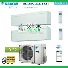 CLIMATIZZATORE DAIKIN BLUEVOLUTION DUAL STYLISH WHITE 9000+12000+2MXM50M/M9 WIFI