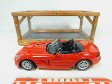 BP486-3 #Motormax 1:18 73137 Metall-Pkw Dodge Viper Srt 10 2003, Very Good
