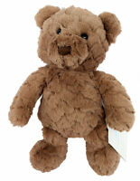 "Cloud Island Plush Bear Dark Brown 14"" Stuffed Toy Teddy Bear NEW, Retired Item!"