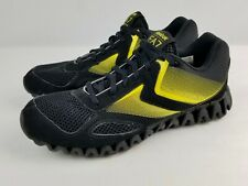 Reebok EA7 Emporio Armani Sneakers Running Shoes Women's 9 Black w/ Neon Yellow