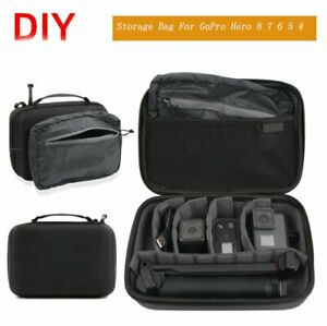 Travel Carrying Case Storage Bag for GoPro Hero 8/7/6/5/4/3 Camera Protective