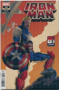 Iron Man #10 Cassaday Variant Marvel Comics 2021 NM+