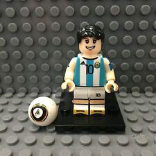 Lionel Messi Custom Minifigure FIFA Soccer Lego Compatible