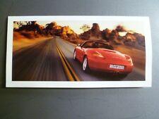 1999 Porsche Boxster Roadster Invitation, Note Card RARE Awesome L@@K