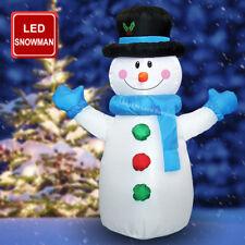 4 FT (environ 1.22 m) DEL Outdoor Bonhomme de Neige auto gonflable Plug In Noël air soufflé Figure