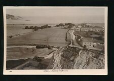 Somerset Weston-super-Mare UPHILL from above quarry Boats RP PPC