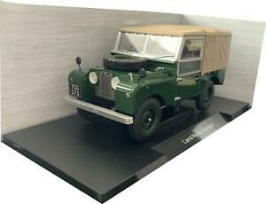 Land Rover Series 1 Closed in dark green 1:18 scale model from Motor Car Group