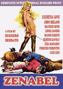 Ruggero Deodato ZENABEL (1969) w/LUCRETIA LOVE Music: Ennio Morricone in ENGLISH