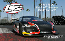 Losi 1:6 Audi R8 LMS Ultra FIA-GT3 BL AWD Electric RC RTR with AVC LOS05003