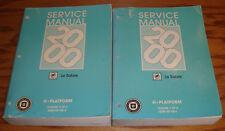 Original 2000 Buick Le Sabre Lesabre Shop Service Manual Vol 1 2 Set