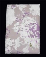 LENOX Shabby Floral Blue Green Vinyl Flannel Back Rect 60 x 102 Tablecloth NIP