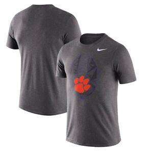 Clemson Tigers Mens Nike Football Icon Dri-Fit Cotton T-Shirt - XL & Large NWT